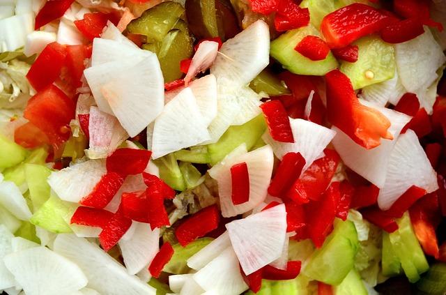 dieta andersona warzywa