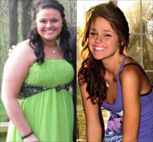 Odchudzanie przed i po by sasetka